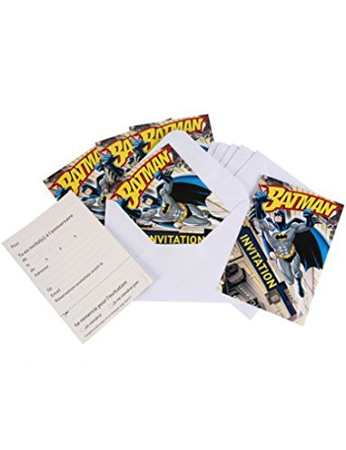 6-Invitations-enveloppes-Batman