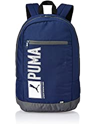 PUMA mochila Pioneer Backpack Negro azul marino Talla:31cm x 46cm x 21cm, 29 Liter