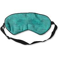 Eye Mask Eyeshade Green Camouflage Sleep Mask Blindfold Eyepatch Adjustable Head Strap preisvergleich bei billige-tabletten.eu