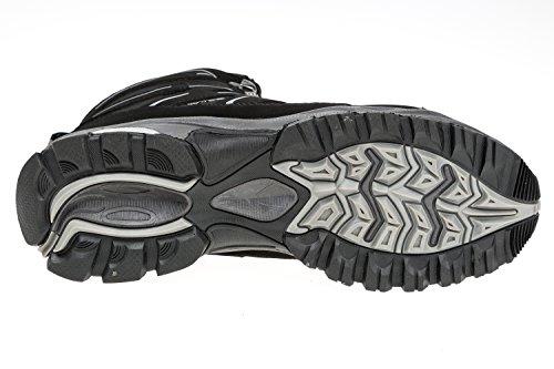 GIBRA® Trekkingschuhe Softshell, warm gefüttert, schwarz/grau, Gr. 36-41 Schwarz/Grau