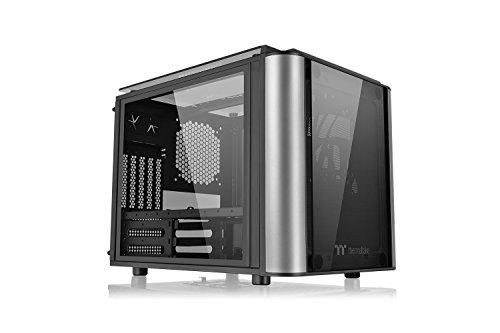 Thermaltake Level 20 VT PC-Gehäuse Cube Case, schwarz/silber