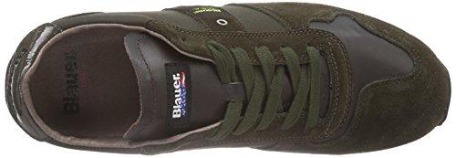 Blauer USA Runlow/Tas, Baskets Basses homme Vert - Vert