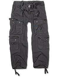 Brandit Pure Vintage Trousers Freizeithose schwarz