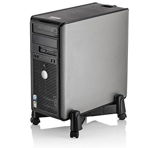 Halter Lz-401 Pc Computer Stand Case Caddy Für Desktop/Tower Fällen Mit Verstellbarer Breite Und 4 Caster Rollen -