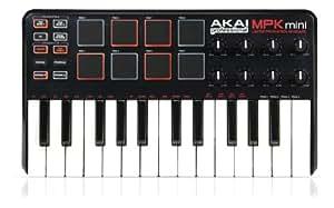 AKAI - MPK mini clavier maitre usb + pad et controleurs