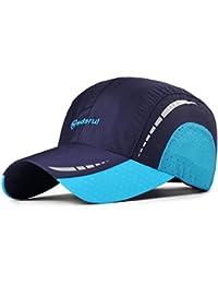 Sombrero Gorras de Verano de los Hombres Sombreros al Aire Libre Sombreros  de Sol SPF Mujeres de Casquillo de… b7e85365d43