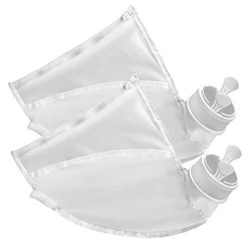 Allzweck-taschen (Gibot Allzweck Poolreiniger Taschen Nylon Reißverschlusstasche Ersatz für Polaris 280 & 480 Poolreiniger Teile, Polaris Bag Ersatzteile (2er Pack))