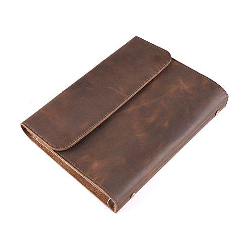 Preisvergleich Produktbild SAIBANG PU Leder Classic Business Notebook Beruf Tagebuch nachfüllbar Schreiben Notizbücher Notebook Geschenke-Braun