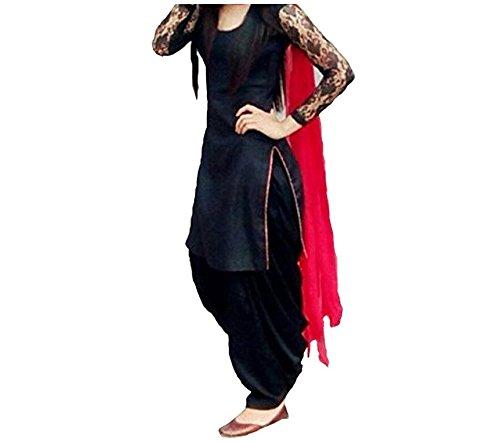 S-R-Fashion-Womens-Cotton-Salwar-Suit-Dress-Material-SR-514BLACK