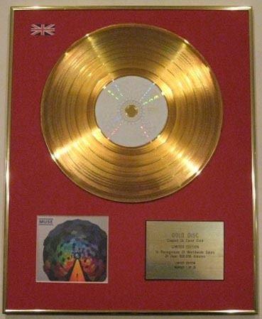 Century Music Awards Muse Ltd Edtn 24 Karat CD Gold - The Resistance -