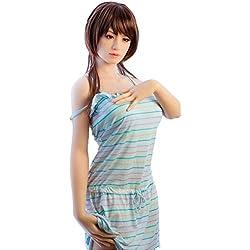 ANNA&JOE 165CM senza soluzione di continuità una bambola uomo Giappone silicone silicone ragazze, anziano semi-entità bambola gonfiabile senza soluzione di continuità, il video di sesso maschile giovane donna simulazione bambola