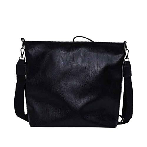 Jujiaclothing borsa donna, borse a tracolla grande tracolla pelle zaino donna di tela borsa tracolla borsetta multifunzione sacchetto grande borse a spalla per lavoro shopping viaggio