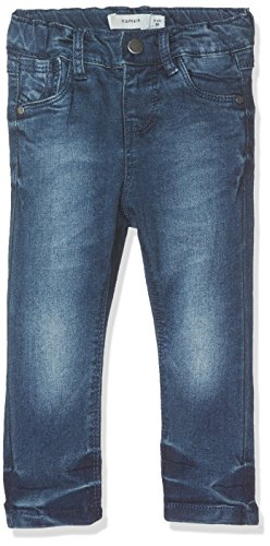 NAME IT Baby-Mädchen Jeans Nittittina Xxsl Dnm Pant Mini Noos, Blau (Dark Blue Denim), 86
