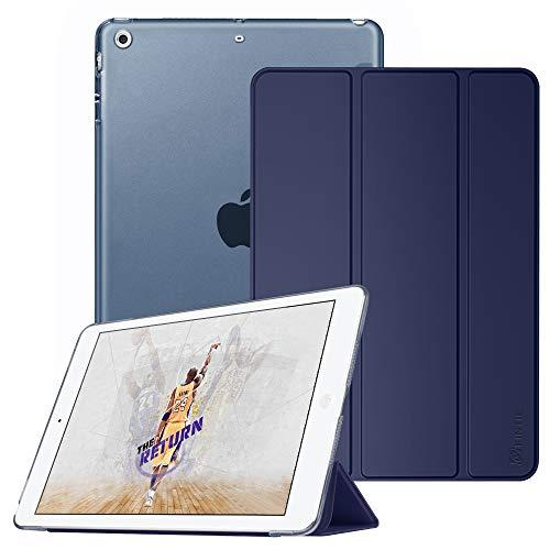 Fintie iPad Mini Hülle - Ultradünne Superleicht Schutzhülle mit transparenter Rückseite Abdeckung Cover mit Auto Schlaf/Wach Funktion für Apple iPad Mini/iPad Mini 2 / iPad Mini 3, Marineblau (Fintie Ipad Mini 2 Case Tastatur)