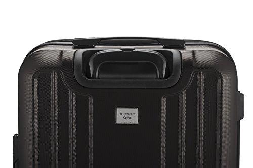 HAUPTSTADTKOFFER - X-Berg - Handgepäck Koffer Trolley Hartschalenkoffer, TSA, 55 cm, 42 Liter, Graphite - 6
