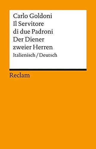 Der Diener zweier Herren (Italienisch/Deutsch) Diener Zweier Herren