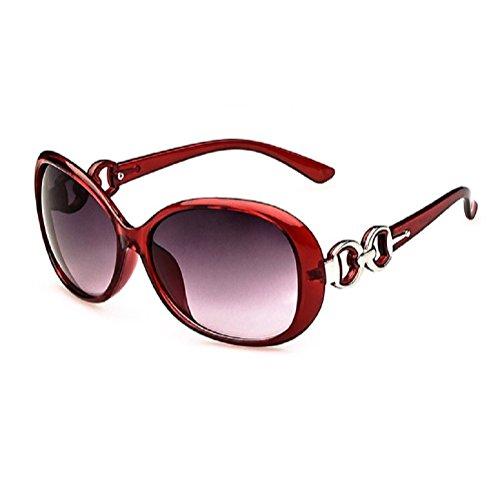 O-C moda donna stile Wayfarer Occhiali da sole rosso c3 - Nuovo Cartier Occhiali Da Sole