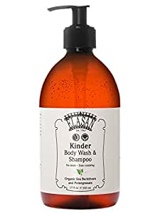 ELASAN Kinder Body Wash & Shampoo 500ml
