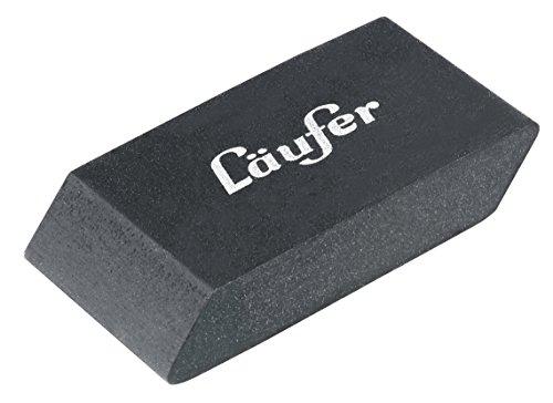 Läufer 69945 Noir Design-Radierer, edel und funktionell, schwarzer Radiergummi für Bleistifte und...