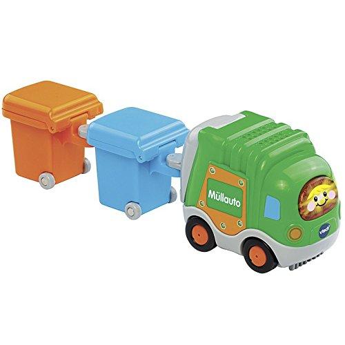 Preisvergleich Produktbild VTech Baby 80-187764 - Tut Flitzer - Müllauto und 2 Mülltonnen, grün