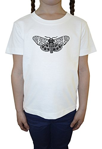 falena-bambine-ragazze-t-shirt-bianco-cotone-girocollo-maniche-corte-white-girls-kids-t-shirt