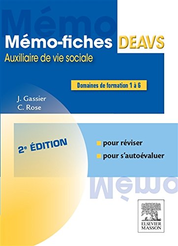 Mémo-fiches DEAVS par From Elsevier Masson