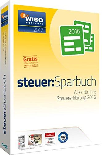 Buhl Data WISO steuer:Sparbuch 2017 (für Steuerjahr 2016)