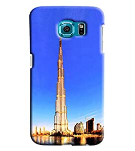 Clarks Printed Designer Back Cover For Samsung Galaxy S6 Edge