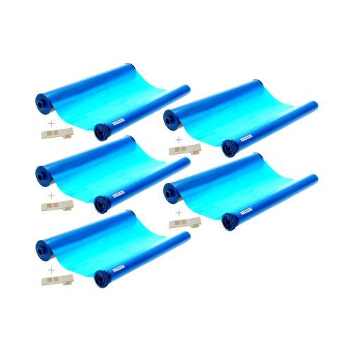 Logic Seek 5x kompatibler Ink-Film ersetzt Philips PFA351 / PFA-351 / PFA 351 / PFA352 / PFA-352 / PFA 352 / geeignet für Philips Faxgerät Magic 5 / 5 Basic / 5 Eco / 5 Voice / PPF 631 / 632 / 636 / 650 / 675 / 676 / 685 / 695 / PPF620E / PPF650E / PPF685E / PPF631E Kapazität 140 Seiten