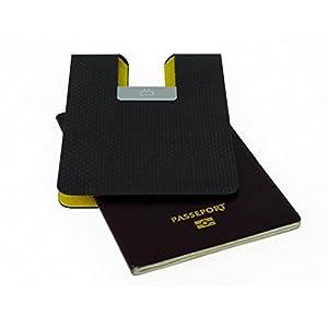Ögon Carbonio F1 Titolare del passaporto o Flight Ticket RFID sicuro