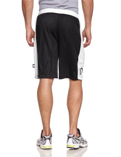 Spalding Bekleidung Teamsport Essential Reversible Shorts schwarz/weiß