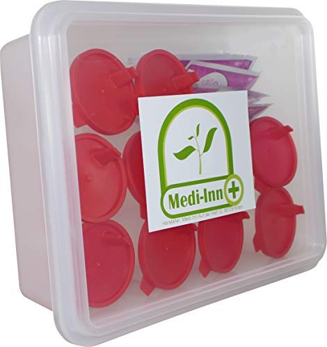 10 x Midstream Schwangerschaftstest HCG Midstream Test Casette+10 Urinoir
