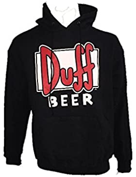 Felpa con cappuccio adulto Duff Beer The Simpsons *15436