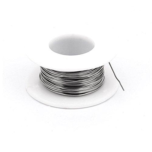Preisvergleich Produktbild sourcingmap® 10M 32,8ft 0,5mm 24AWG Kabel Nichrom Widerstandsdraht Heizdraht für Heizelement