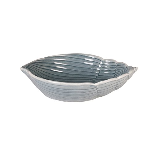 Cape Coral Collection, Shell Bowl - Gray by Fitz and Floyd Floyd Shell