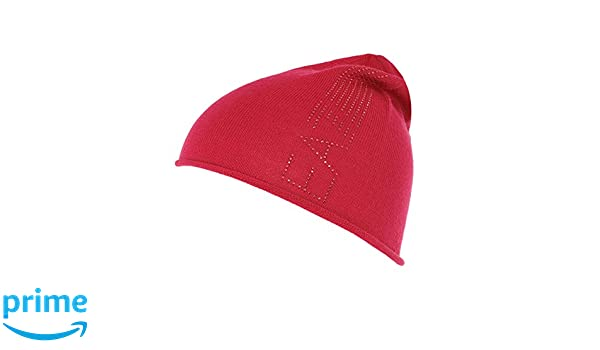 0f967d53 WOMEN'S EMPORIO ARMANI EA7 BEANIE HAT 285385 6A731 13573 BARBERRY PINK:  Amazon.co.uk: Clothing