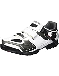 Shimano SH-M089W - Zapatillas MTB para hombre, Blanco, 41 EU