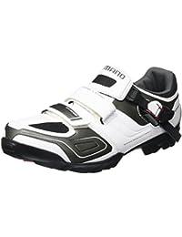 Shimano SH-M089W - Zapatillas MTB para hombre, Blanco, 46 EU