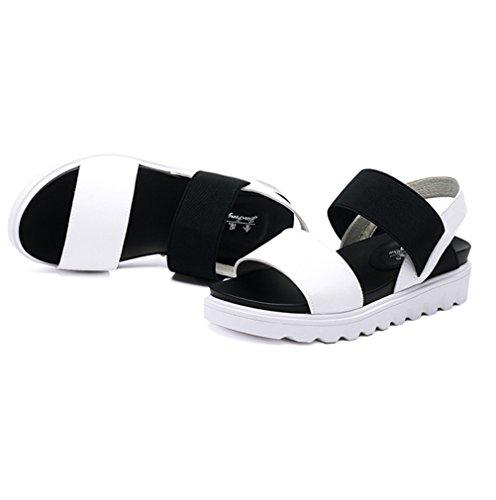 XTIAN - Sandali Donna nero, bianco
