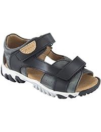 MOVE Boys' Trekkingsandale Athletic Sandals Black Schwarz (Black) 6.5 UK
