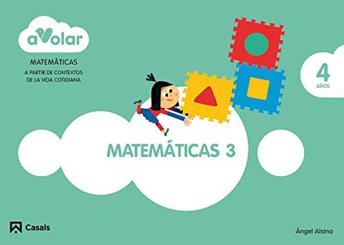 Matemáticas 3. 4 años. ¡A volar! - 9788421855621
