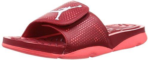 Nike Herren Jordan Hydro 5 Flip-Flops, Rot, 41 EU
