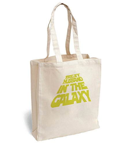Best Husband In The Galaxy Star Wars Intro Font Canva Bag Tote Handbag Shoulder Bag Sports Leisure Picnic