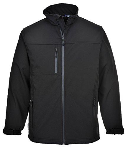 Price comparison product image Portwest TK50BKR4XL Softshell Jacket 3 Layer,  Regular,  Size: 4X-Large,  Black