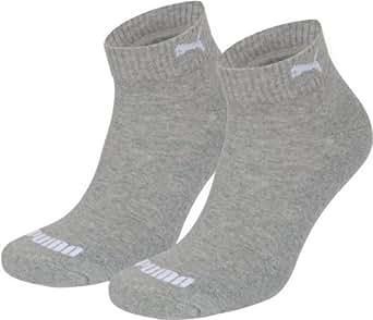 puma quarter chaussettes de sport lot de 2 homme puma socks sports et loisirs. Black Bedroom Furniture Sets. Home Design Ideas