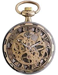YUNDING Montre De Poche Et Bracelet, Rome D'époque, Appareil Ancien Creux/Enroulement, Aucune Pile, Fenêtre Transparente, Cadeau