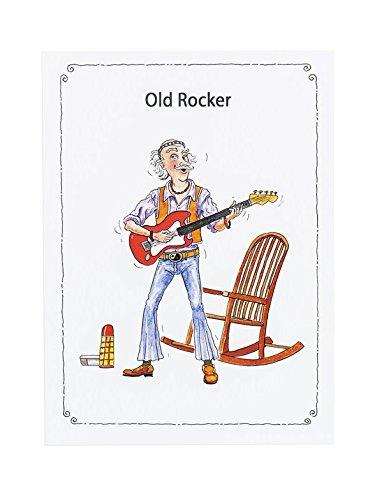 Little Snoring: 7' x 5' Greetings Card - Old Rocker