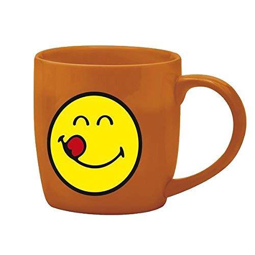 Zak designs 6727-1599 Mug Café Porcelaine Corail 20 cl