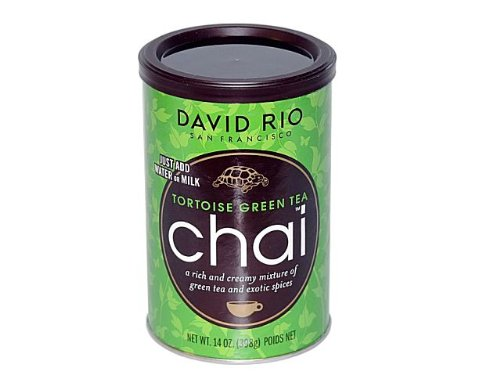 Chai Tea green Tea Tortoise David Rio 2 Dosen je 398 g