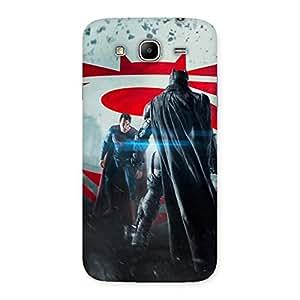 Impressive Day Vs Knight Front Multicolor Back Case Cover for Galaxy Mega 5.8